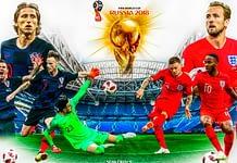 England-Kroatien im Halbfinale WM 2018