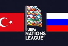 UEFA NationsLeague! Russia – Turkey